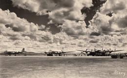 CPA - Aéroport D'Antananarivo ( Madagascar ) - DC 4 + DC 6 B Compagnie T.A.I Et Constellation Air France - Aerodromes