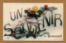 """BEAUCOURT (90) : """" UN SOUVENIR """" - Sonstige Gemeinden"""