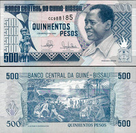 Guinea Bissau 1990 - 500 Pesos - Pick 12 UNC - Guinea-Bissau