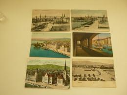 Lot De 20 Cartes Postales De Suisse  Zürich       Lot 20 Postkaarten Zwitserland  Switserland  Svizzera  Sweiz - 5 - 99 Postcards