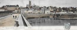 58 Nièvre - NEVERS - Carte Double - Panorama - Vue Prise Du Pont De Loire - - Nevers