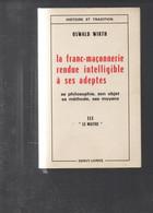 14130   LIVRE  FRANC MACON   270 PAGES - Religion