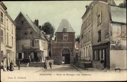 CPA Péronne Somme, Porte De Bretagne - Otros Municipios