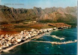 8378 - Spanien - Mallorca , Puerto De Pollensa , Hafen - Gelaufen 1973 - Mallorca