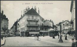 Annecy - Tramway - Les Rues Du Paquier Et Vaugelas - N° 30 Aux Dames De France Edit. Spéciale - Voir 2 Scans - Annecy