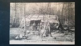 91 - FORET DE SENART - UNE CABANE DE BUCHERONS - Sonstige Gemeinden