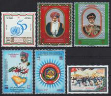 Oman 1995 - Mi-Nr. 397, 399, 400-401 & 402-403 ** - MNH - 4 Ausgaben - Oman