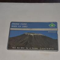 Tanzania-(TAZ-RC-01B)-mount Kilimanjaro-(7)-(50units)-(402A)-(402A06420)-used Card+1card Prepiad/gift Free - Tanzania