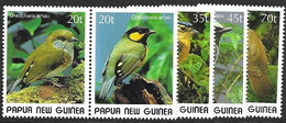 Papua Mnh** Complete Birds Set 9.2 Euros 1989 (with Intact Pair) - Zonder Classificatie