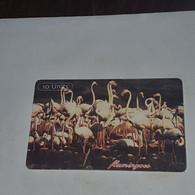 Tanzania-(TAZ-T-15A)-flamingos-(13)-(10units)-(0010-350444)-used Card+1card Prepiad/gift Free - Tanzania