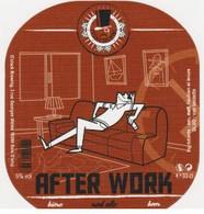 "Etiquette (label) De Biere Française   ( Beer, Cerveza, Birra, Bier); Micro-Brasserie ""La O'clock Brewing""78 - Bière"