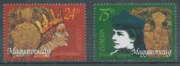 Hongrie YT N°3541/3542 Europa 1996 Femmes Célèbres Neuf ** - 1996