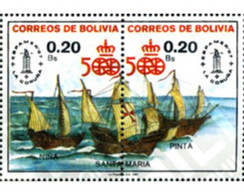 Ref. 292438 * MNH * - BOLIVIA. 1987. 500TH ANNIVERSARY OF THE DISCOVERY OF AMERICA . 500 ANIVERSARIO DEL  DESCUBRIMIENT - Bolivie
