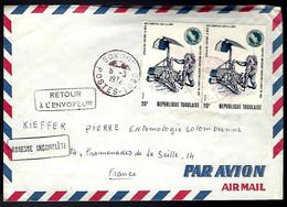 APOLLO XII - SOKODÉ - ADRESSE IMCOMPLÈTE - RETOUR À L'ENVOYEUR - Africa