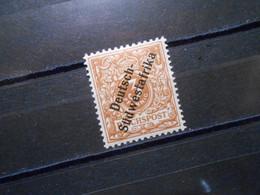 DR Mi 5b*MLH - Deutsche Kolonien (Deutsch-Südwestafrika) 1898 - Mi 30 € - Geprüft Jäschke BPP - Colony: German South West Africa