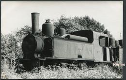 """Aisne (02) - Photo P. Laurent - Juillet 1953 - Locomotive Corpet Type 130T N° 7 """"Aisne"""" - Voir 2 Scans - Treinen"""