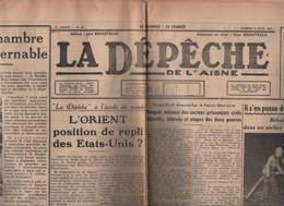 LA DEPECHE DE L'AISNE 06 06 1953 - COURONNEMENT REINE ELIZABETH - LAON - CHATEAU THIERRY - TERGNIER - ANIZY LE CHATEAU - - 1950 - Today