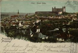 Pozsony - Pressburg (Bratislava) Total Telyes Latkep 1901 With Stamp - Slovakia