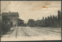 MAUVAIS ETAT - Mouriès - La Gare Coll. L. A. - Voir 2 Scans Et Lire Descriptif - Andere Gemeenten