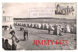 CPSM Dentelées - SAINT-GEORGES-de-DIDONNE - La Plage ( Bien Animée ) 17 Charente Maritime - Imp. COMBIER MACON CIM - Saint-Georges-de-Didonne