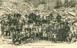 Ardoisières De LIMATGE Pres DOURGNE =  Groupe D'ardoisiers   2290 - Dourgne