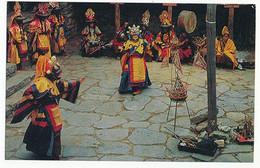 TIBETAN NEW YEAR'S DANCE - N° 13 - TYYANG BOCHE TEMPLE - Tibet