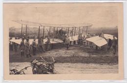 88511 Ak Noyelles Niedergekämpftes Englisches Flugzeug 'Baby Mine' 1916 - Sin Clasificación