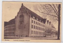 25490 Ak Breslau Technische Hochschule Uferzeile 1931 - Schlesien