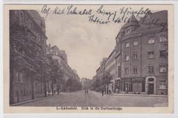 98232 Ak Leipzig Schönefeld Blick In Die Stettinstraße 1925 - Sin Clasificación