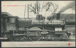 Les Locomotives (Cie De L'Est) - Machine N° 2404 Du Type 220 - F. Fleury N° 12 - Voir 2 Scans - Treinen