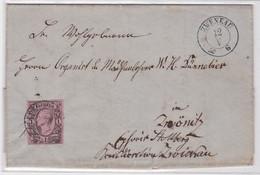 27441 Gelaufener Brief Marke 1 Neu Groschen Sachsen Nach Zwenkau (1859) - Unclassified