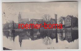 82483 Ak Leer In Ostfriesland Hafen 1913 - Sin Clasificación