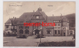 83070 Feldpost Ak Herborn (Nassau) Bahnhof 1913 - Unclassified