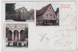 86609 AK Gruss Aus Oberkirch - Greifensaal, Krieger-Denkmal & Gasthaus 1909 - Unclassified