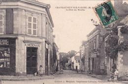 Chateauneuf Sur Sarthe, Rue Du Moulin - Chateauneuf Sur Sarthe