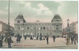 Brussel - Bruxelles - Gare Du Nord - 1919 - Transport (rail) - Stations
