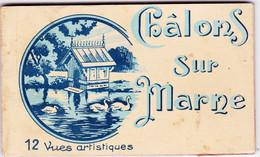Châlons Sur Marne, Carnet Complet De 12 Cartes - Châlons-sur-Marne
