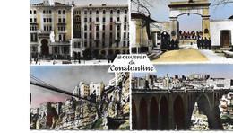 Algerie Constantine Hotel Cirta Quartier Gallifet 67 Re D'artillerire Passerelle Perregaud Et Médersa Ville Et Pont Sidi - Constantine