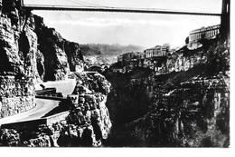 Algerie Constantine  La Ville Et Pont Sidi M'cid Chemin Des Touristes - Constantine