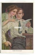 John Wood - Liebe Erinnerungen, Dear Memories - Old Artistic Postcard - Altre Illustrazioni