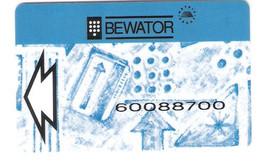 Magnetic Card - Bewator - Metric Group - Unknown Origin