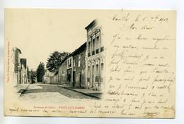 77 PONT Aux DAMES Edit Vve Gruot - Rue Du Bourg écrite De Couilly En 1902  Timb    /D19-2017 - Sonstige Gemeinden