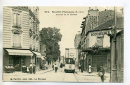 93 PANTIN Edit  E.M 6813- Tramway Electrique Rue De Paris En Face Dépot Des Tramways  1921 écrite      /D19-2017 - Pantin