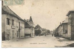 LES ABRETS. Route De Lyon. - Les Abrets