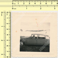 REAL PHOTO ANCIENNE , Old Car CITROEN DS Auto Voitur Automobilia Old Photo ORIGINAL - Automobili