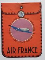 Etiquette à Bagages Air France - Années 1950 - Bamako - Baggage Labels & Tags