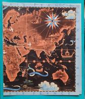 Couvre-Livre Protège-Cahier AIR FRANCE Lucien BOUCHER Années 1950 - Book Covers