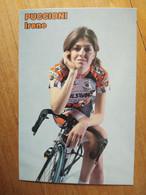 Cyclisme - Carte Publicitaire EDILSAVINO PARKPRE 2001 : Irène PUCCIONI - Ciclismo