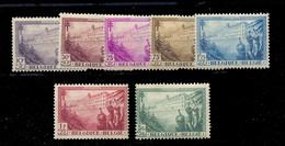 N°356/362 X. COB 130 Euros - 17612 - Ungebraucht