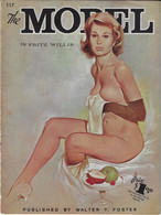 1190 The Model Fritz Willis 30 Pages - Fine Arts